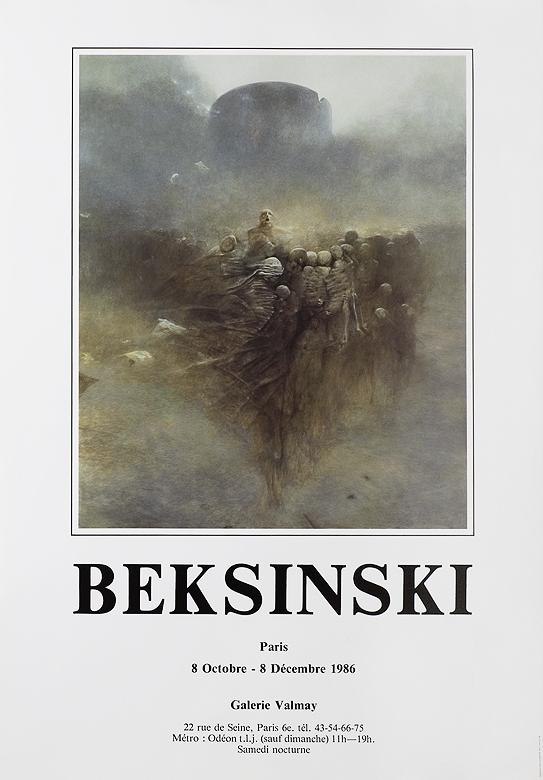 Aukcja 14 07 2009 Plakat Wystawy Indywidualnej 1986 Domu