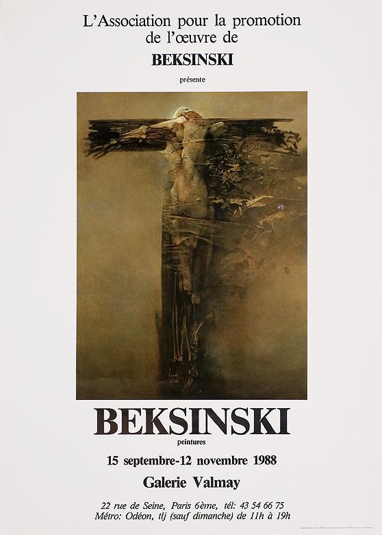 Aukcja 19 01 2010 Plakat Wystawy Indywidualnej 1988 Domu