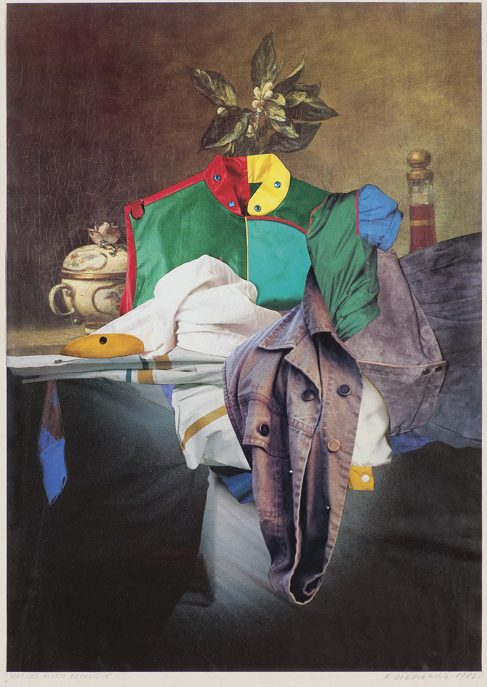 Roman Cieślewicz, NATURE MORTE DECOUSSUE, 1982